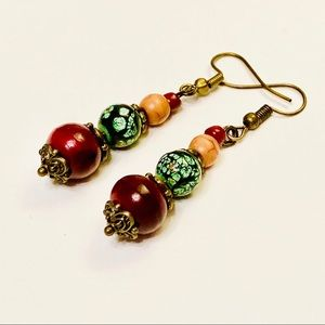 Artisan Mixed-Media Earrings